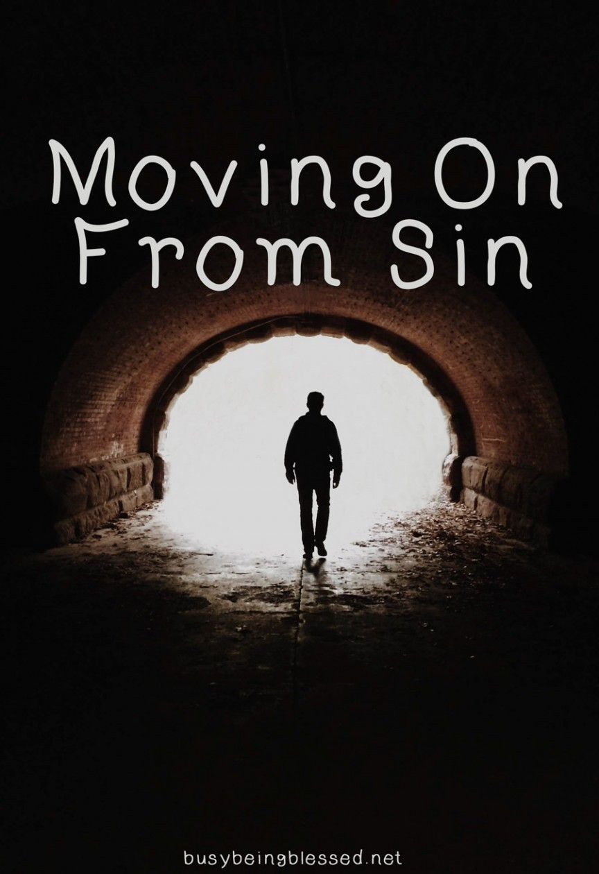 Moving On From Sin