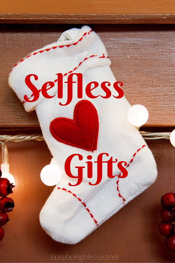 Considering a selfless gift this year? Is your family sitting on some extra money this year, just waiting to be put to some good use? God has blessed us so much, can\'t we share with others?