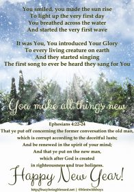 All Things New – Happy New Year 2015!