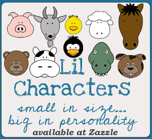 Lil Characters on Zazzle