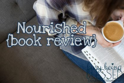 Nourished  {Book Review}