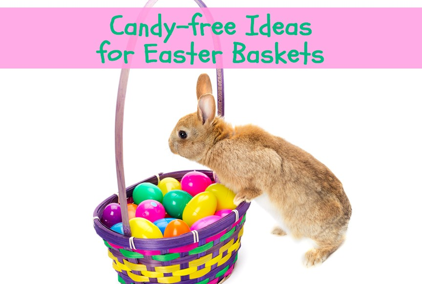 Easter Basket With Candy Candy Free Ideas For Easter