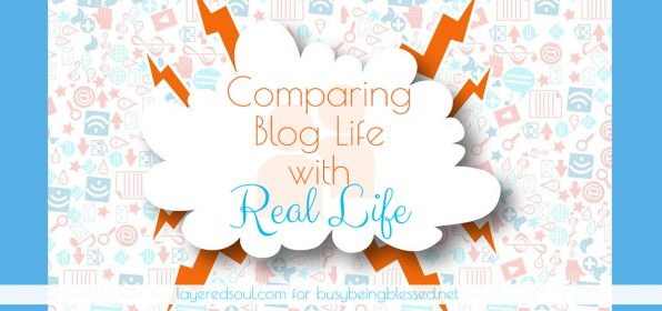 Comparing Blog Life with Real Life {Imperfect Moms Day 3}