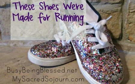 These Shoes Were Made for Running {Imperfect Moms Day 36}