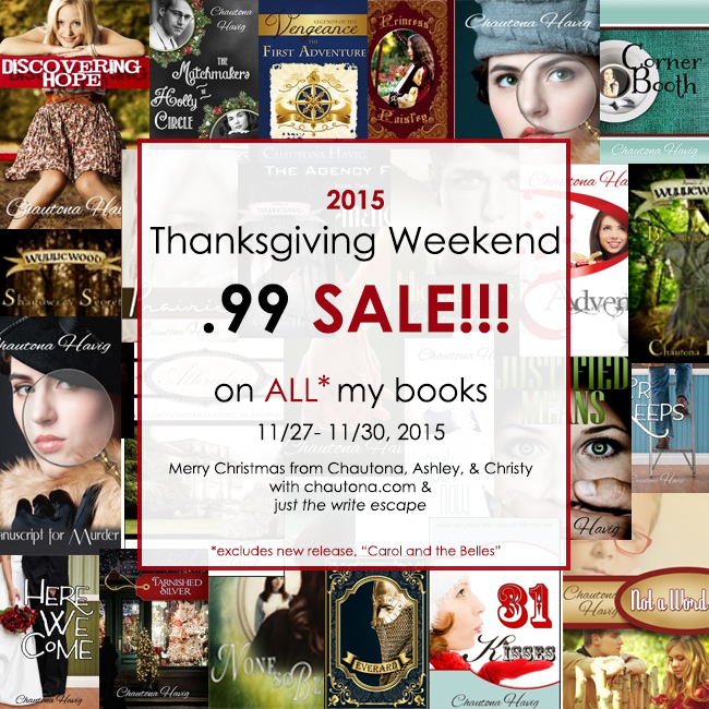 Chautona's 99c Black Friday Sale