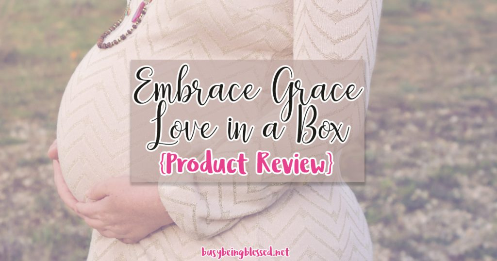 Embrace Grace Love in a Box {Product Review}