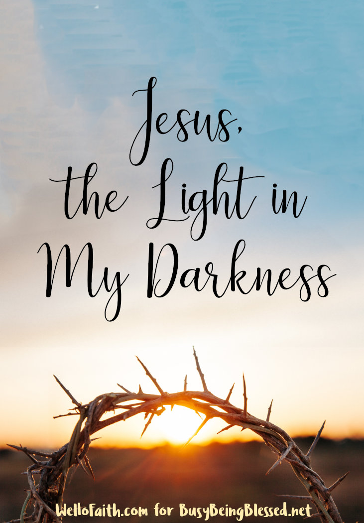 On those days when I struggle with the anxiety and the anger that comes with it-- He lifts me up. He is the Light. And He will overcome the darkness. #lightsofhope
