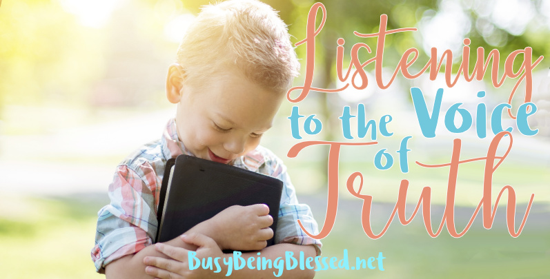 Listening to the Voice of Truth {Blogging Through Music}