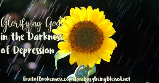 Glorifying God in the Darkness of Depression