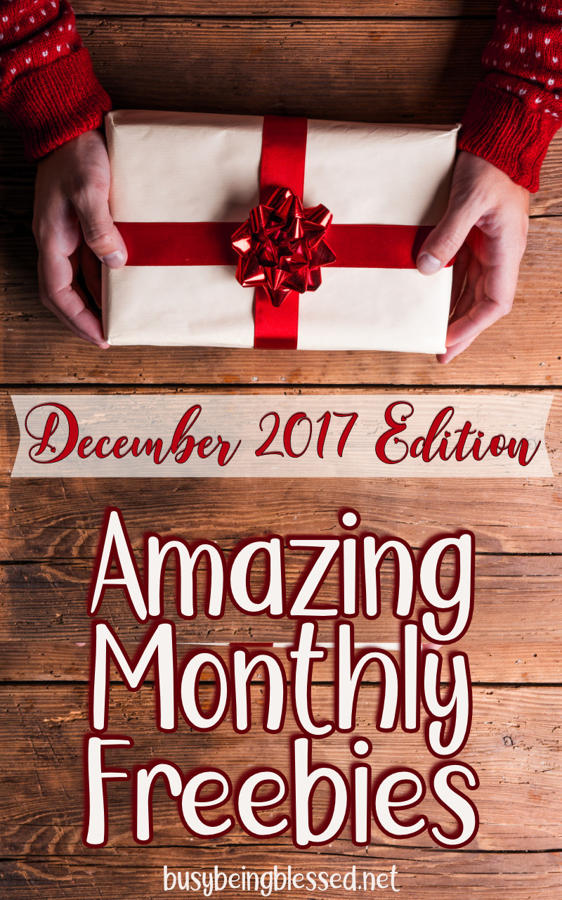 Each month, I'll be rounding up my favorite freebies from other sites! December is sure to bring some wonderful ones! :)