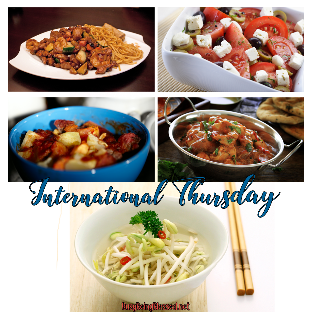 International Thursday Recipe Roundup