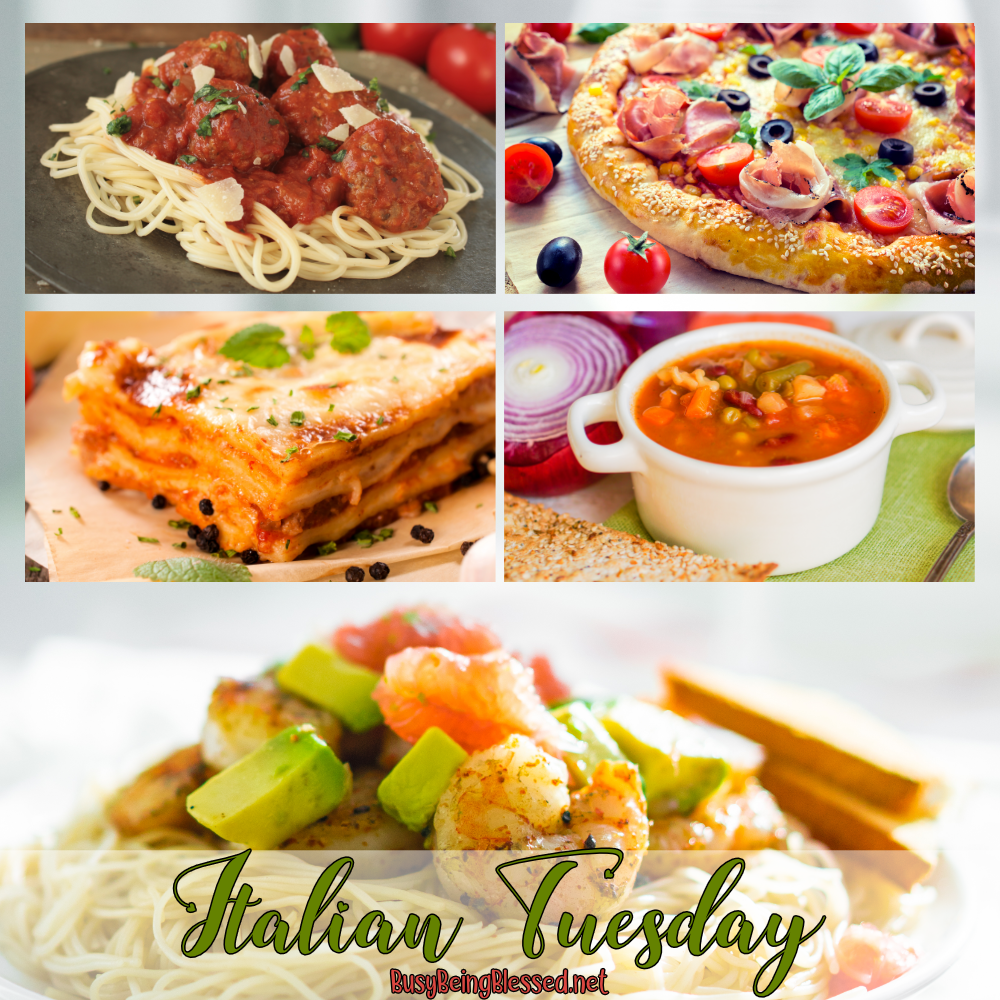 Italian Tuesday Recipe Roundup