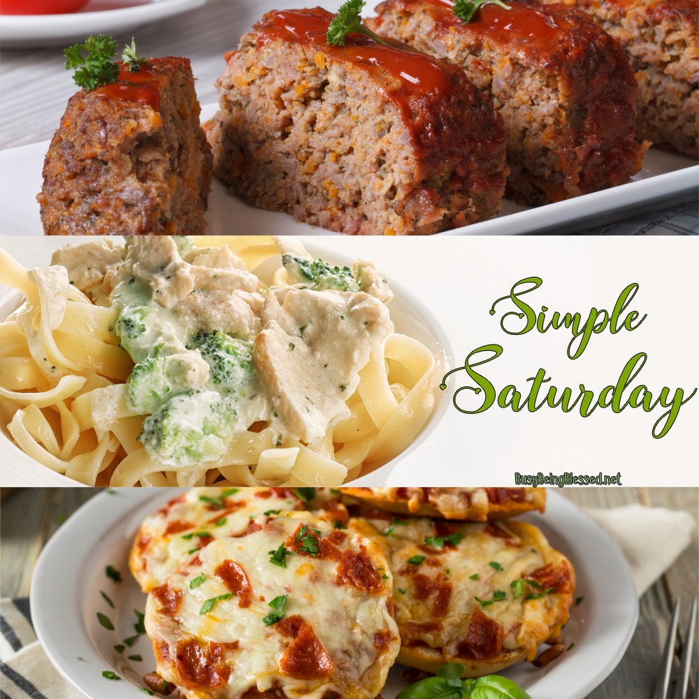 Simple Saturday Recipe Roundup