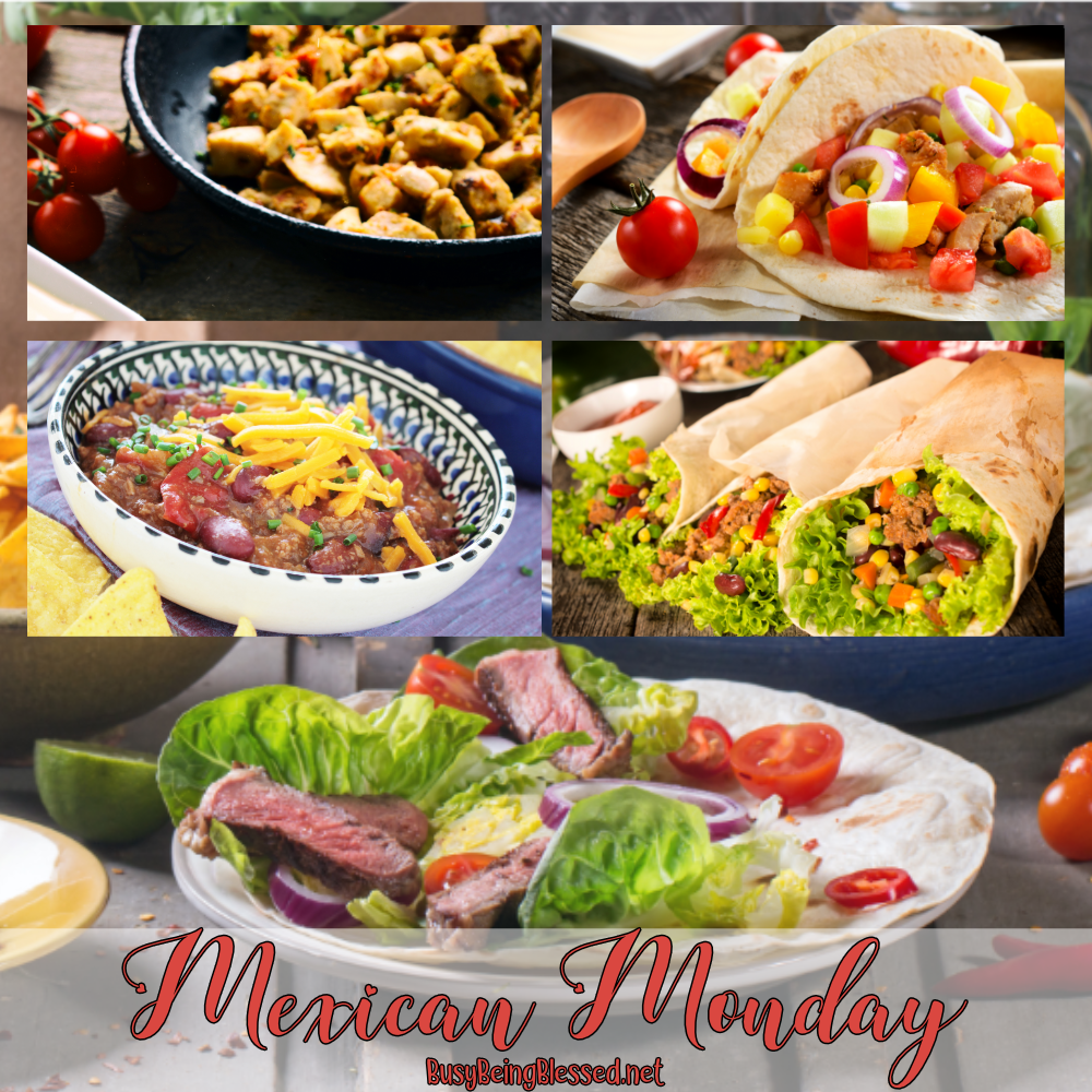 Mexican Monday Recipe Roundup