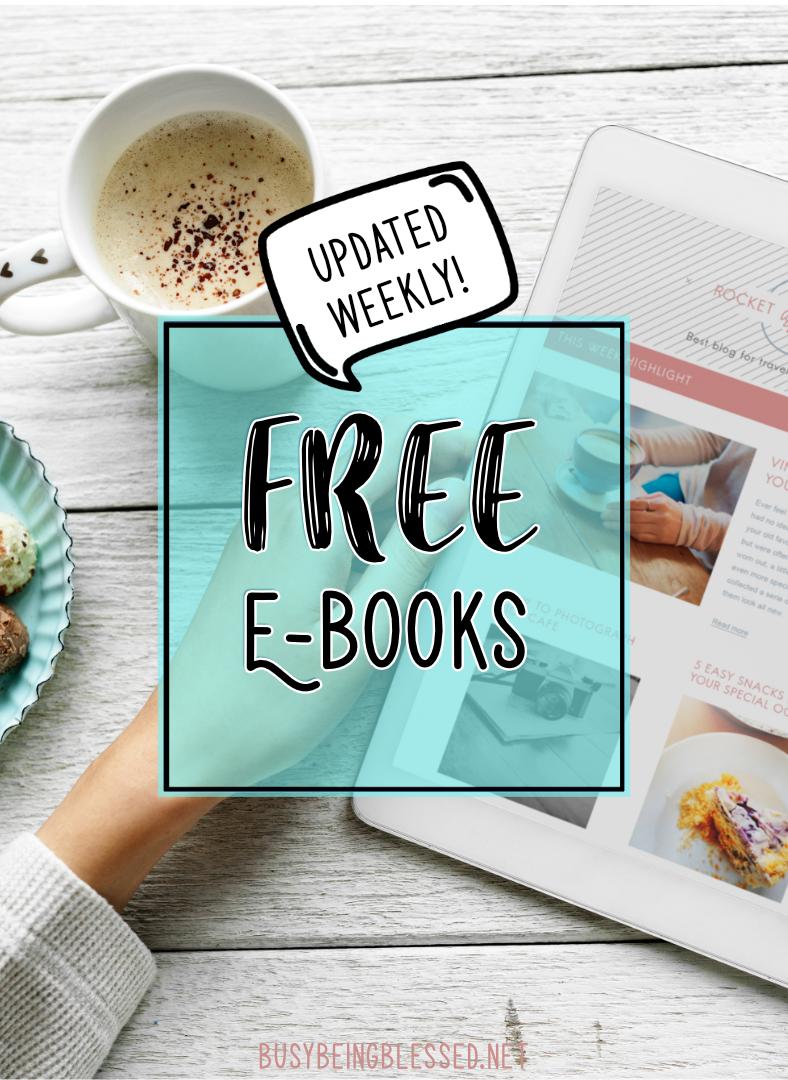 Free E-books (Updated 2/7/19)