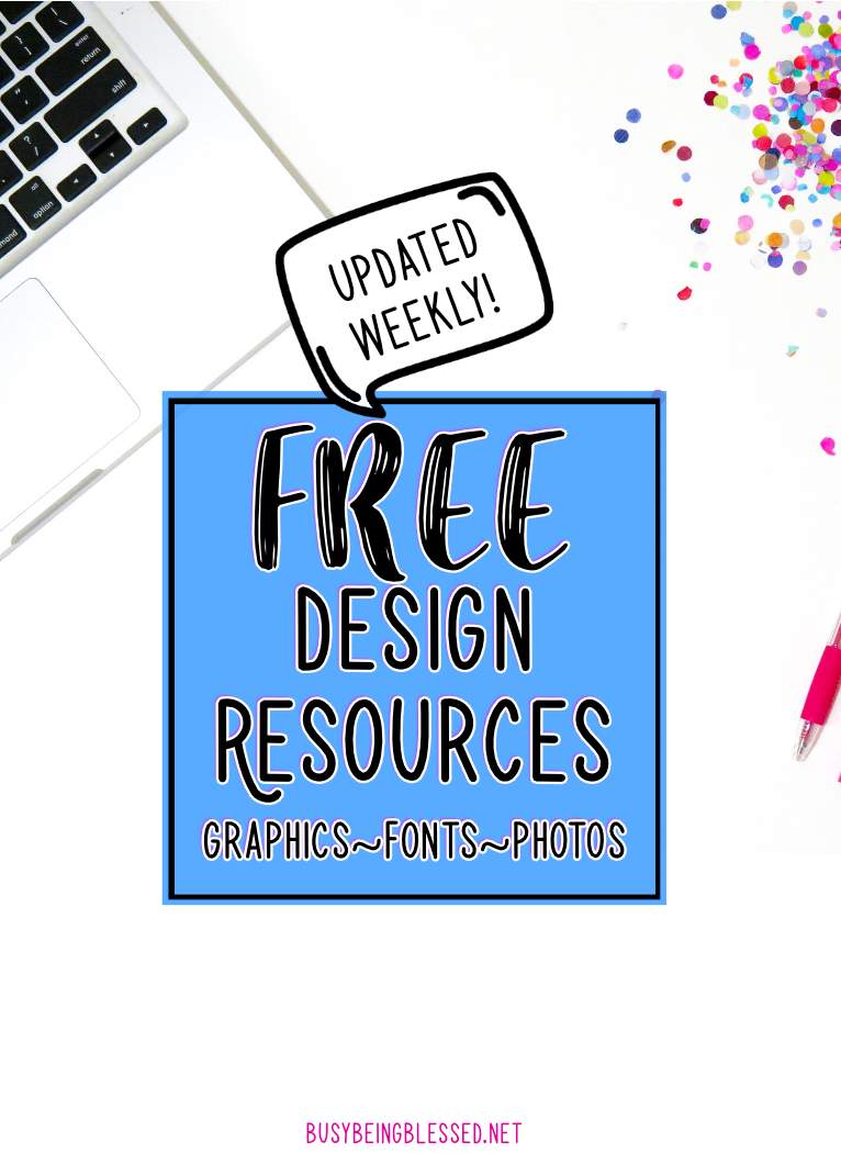 Free Design Resources (Updated 12/28)